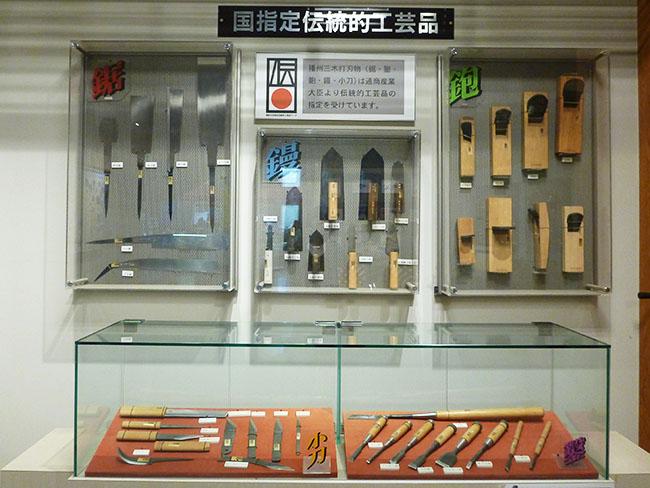 国指定伝統的工芸品の展示