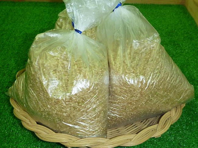 三木産の玄米2kg