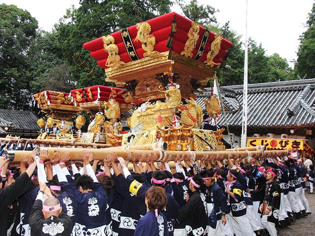 岩壺神社 秋祭り